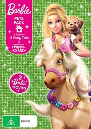 Barbie Pets Pack - Barbie and Her Sisters In A Pony Tale / Barbie and Her Sisters In The Puppy Chase