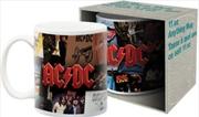 ACDC - Album Collage Mug
