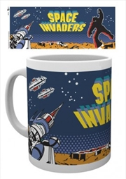 Space Invaders - Cabinet Art 10oz