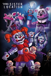 Five Nights At Freddys - Sister Location Group | Merchandise