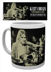 Kurt Cobain - Unplugged 10oz Mug | Merchandise