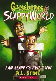 Goosebumps SlappyWorld #3: I Am Slappy's Evil Twin | Paperback Book