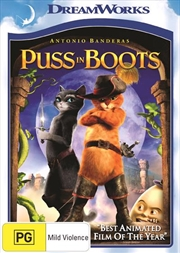 Puss In Boots | DVD