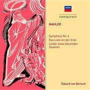 Mahler - Symphony No. 4 / Das Lied von der Erde / Lieder