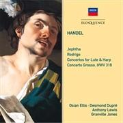 Handel - Jephtha / Rodrigo / Concertos for Lute and Harp