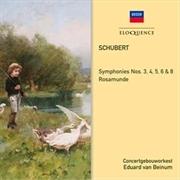Schubert -  Symphonies 3,4,5,6,8 Rosamunde