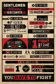 Fight Club - Infograpic