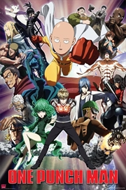 One Punch Man - Key Art