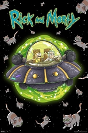 Rick And Morty - Cats In Space