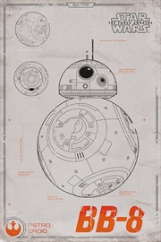 Star Wars Force Awakens - Bb8