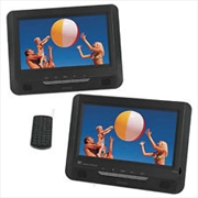 "Blaupunkt Portable 9"" Dual Screen 