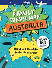 My Family Travel Map - Australia | Paperback Book