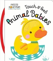 Touch And Feel Animal Babies