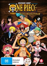 One Piece Voyage - Collection 8 - Eps 349-396 | DVD