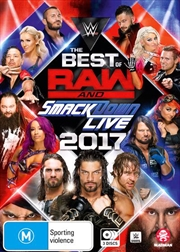 WWE - Best Of Raw Smackdown 2017 | DVD