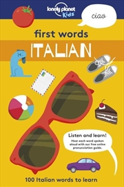 First Words - Italian | Paperback Book