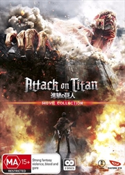 Attack On Titan Movie Collection | Blu-ray