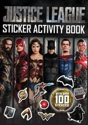 Dc Comics: Justice League Sticker Activity Book