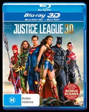 Justice League | 3D + 2D Blu-ray
