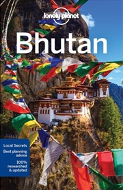 Lonely Planet Bhutan   Paperback Book