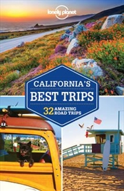 Lonely Planet California's Best Trips   Paperback Book