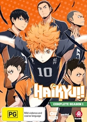 Haikyu!! - Season 1 | Dual Language Edition