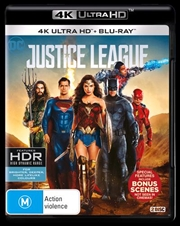 Justice League | Blu-ray + UHD