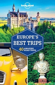Lonely Planet Europe's Best Trips   Paperback Book