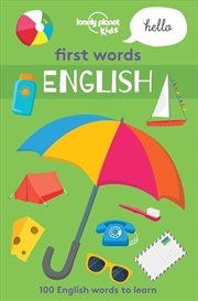 First Words - English   Paperback Book