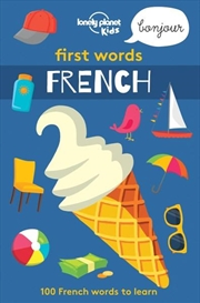 First Words - French   Paperback Book