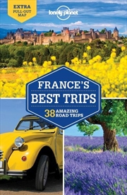 Lonely Planet France's Best Trips   Paperback Book