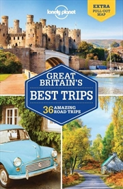 Lonely Planet Great Britain's Best Trips   Paperback Book