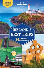 Lonely Planet Ireland's Best Trips   Paperback Book