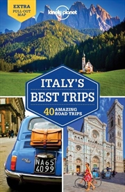 Lonely Planet Italy's Best Trips   Paperback Book