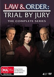 Law and Order - Trial By Jury   DVD