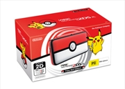 New Nintendo 2DS XL Console Pokeball Edition