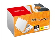 Nintendo 2ds Xl Console Orange