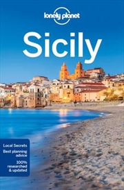 Lonely Planet Sicily   Paperback Book