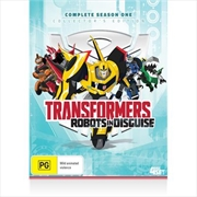 Transformers: Robots In Disguise - Season 1 | DVD