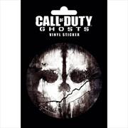 Call of Duty Ghosts Skull Vinyl Sticker | Merchandise