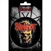 Slipknot Skull Vinyl Sticker | Merchandise