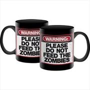 Zombie Warning - Mug - 11oz