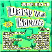 Party Tyme Karaoke - Super Hits - Vol 26 | CD