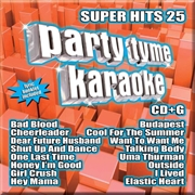 Party Tyme Karaoke - Super Hits - Vol 25 | CD