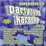 Party Tyme Karaoke - Super Hits - Vol 23 | CD