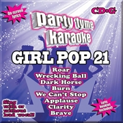 Party Tyme Karaoke - Girlpop - Vol 21 | CD