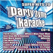 Party Tyme Karaoke - Super Hits - Vol 20 | CD
