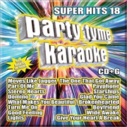 Party Tyme Karaoke - Super Hits - Vol 18 | CD