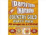 Party Tyme Karaoke - Country Gold Party Pack | CD