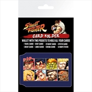 Street Fighter - Character Select Card Holder | Apparel